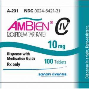 ambien pill cover